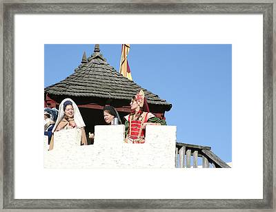 Maryland Renaissance Festival - Open Ceremony - 12123 Framed Print