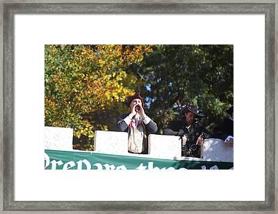 Maryland Renaissance Festival - Open Ceremony - 12128 Framed Print