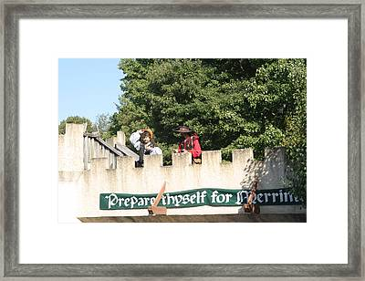 Maryland Renaissance Festival - Open Ceremony - 12129 Framed Print by DC Photographer