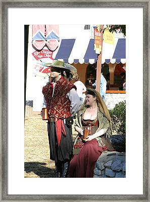 Maryland Renaissance Festival - People - 121210 Framed Print by DC Photographer