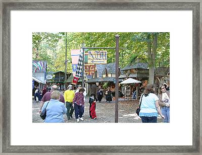Maryland Renaissance Festival - People - 121211 Framed Print by DC Photographer