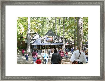 Maryland Renaissance Festival - People - 121222 Framed Print by DC Photographer
