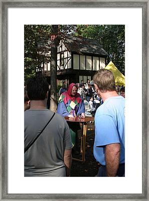Maryland Renaissance Festival - People - 121252 Framed Print