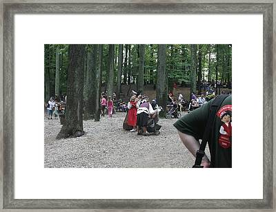 Maryland Renaissance Festival - People - 121295 Framed Print