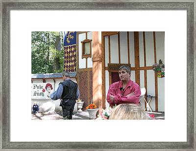 Maryland Renaissance Festival - Puke N Snot - 12121 Framed Print by DC Photographer