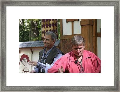 Maryland Renaissance Festival - Puke N Snot - 121210 Framed Print by DC Photographer