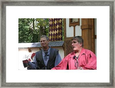 Maryland Renaissance Festival - Puke N Snot - 121212 Framed Print by DC Photographer