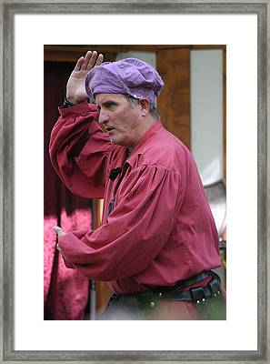 Maryland Renaissance Festival - Puke N Snot - 121213 Framed Print by DC Photographer