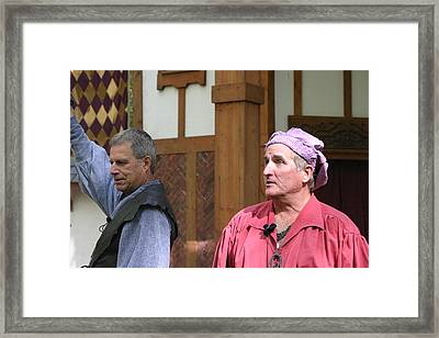 Maryland Renaissance Festival - Puke N Snot - 121218 Framed Print by DC Photographer