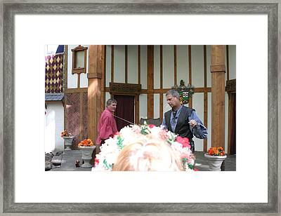 Maryland Renaissance Festival - Puke N Snot - 121220 Framed Print by DC Photographer
