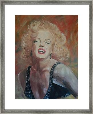 Marylin Monroe Framed Print by Chris Lambert