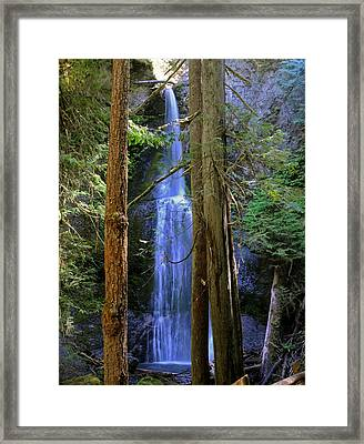 Marymere Falls Framed Print by SEA Art