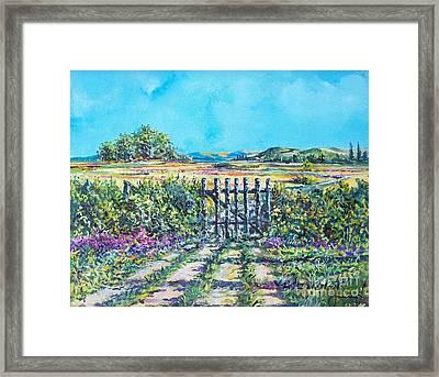 Mary's Field Framed Print
