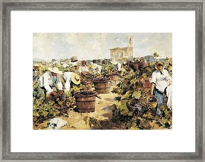 Mas I Fondevila, Arcadi 1852-1934. The Framed Print by Everett