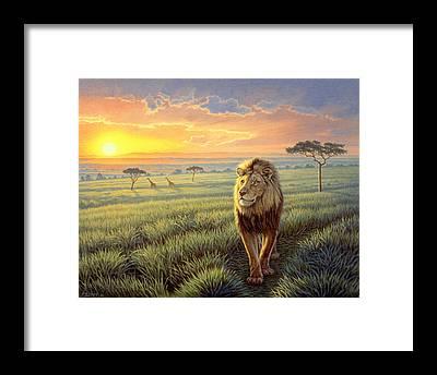 Kenya Framed Prints