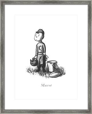 Mascot Framed Print