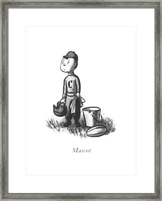 Mascot Framed Print by William Steig
