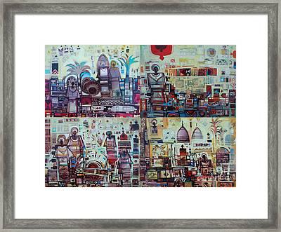 Maseed Maseed 3 Framed Print by Mohamed Fadul