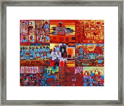 Maseed Maseed 4 Framed Print by Mohamed Fadul