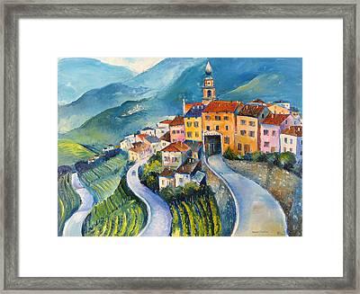 Masen-trentino Framed Print