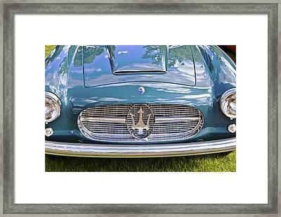 Maserati A6g 54 2000 Zagato Spyder 1955 Framed Print