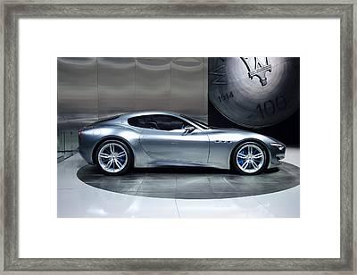 Maserati Alfieri Framed Print