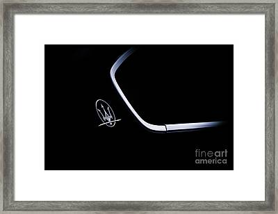 Maserati Quattroporte  Framed Print by Tim Gainey