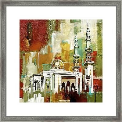 Masjid Zahra Framed Print by Corporate Art Task Force