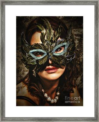 Mask  No. 2  ... Framed Print
