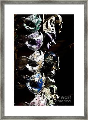 Mask In Florence Framed Print by Marco Affini