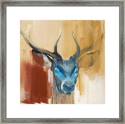 Mask Framed Print by Mark Adlington