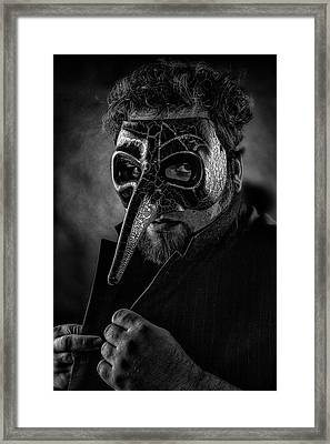 Mask Of The Red Death Framed Print