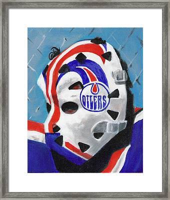Masked Fuhr Framed Print by Paul Smutylo