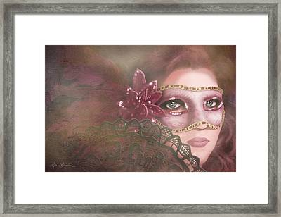 Masked IIi Framed Print by April Moen
