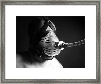 Masked Framed Print by Mojo THF