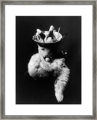 Masked Navajo Man, C1905 Framed Print by Granger