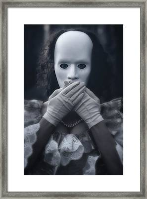 Masked Woman Framed Print by Joana Kruse