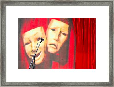Masks - Featured 3 Framed Print