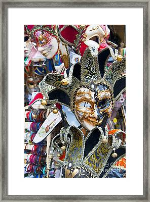 Masks With Attitude Framed Print