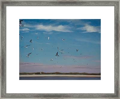 Masonboro Airshow Framed Print by Christopher Reid