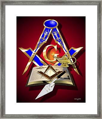 Masonic Education Framed Print by Stephen McKim