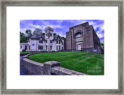 Masonic Lodge Framed Print by Paul Ward