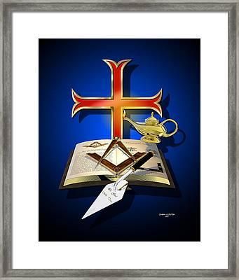 Masonic Relation Framed Print by Stephen McKim
