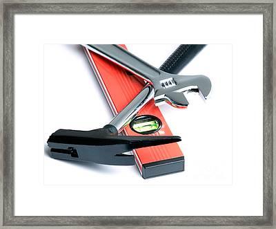 Mason's Tools Framed Print by Sinisa Botas