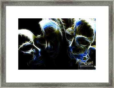 Masquerade Framed Print by Bob Christopher