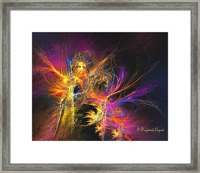 Masquerade Framed Print by Francoise Dugourd-Caput