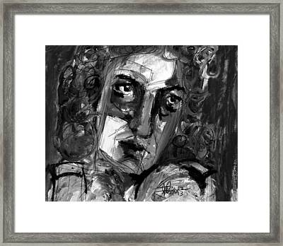 Masquerade II Framed Print by Jim Vance