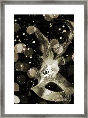 Masquerade Framed Print by Jelena Jovanovic