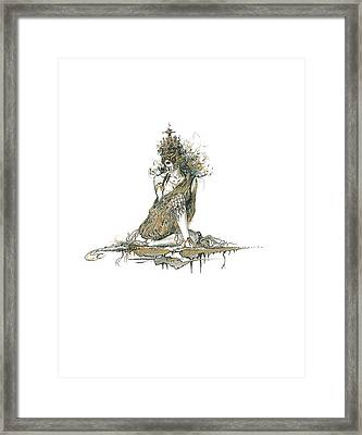 Wanita Framed Print by Julio Lopez