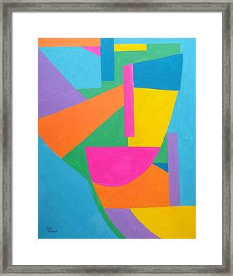 Masquerate Framed Print